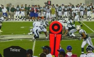 Actiefoto uit de NFL